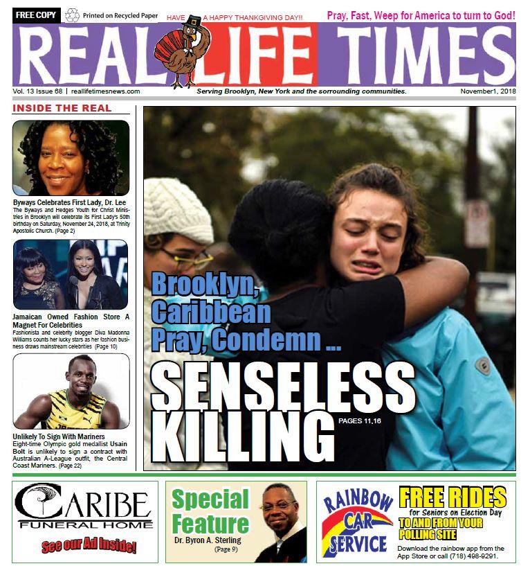 Real Life Time Newspaper Edition Nov 2018